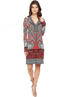 Hale Bob Through the Looking Glass Jersey Dress