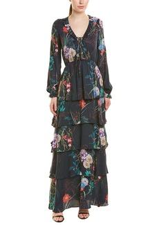 Hale Bob Tiered Maxi Dress