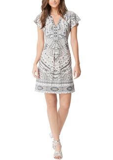 Hale Bob V Neck Dress