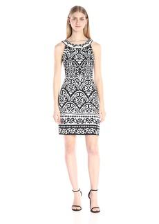 Hale Bob Women's Thrills and Frills Jersey Beaded Detail Dress
