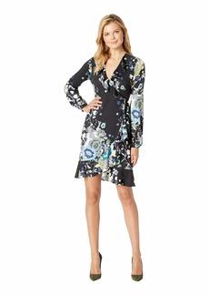 Hale Bob Natural Beauty Matt Microfiber Jersey Damiana Dress