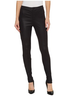 Hale Bob Natural Charm Coated Stretch Ultra Suede Leggings