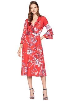 Hale Bob One Vine Day Matt Microfiber Jersey Renee Dress