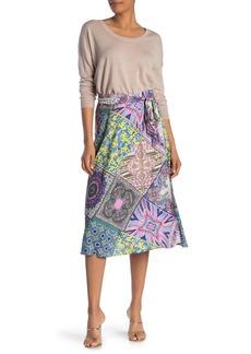 Hale Bob Paisley Mandala Wrap Skirt