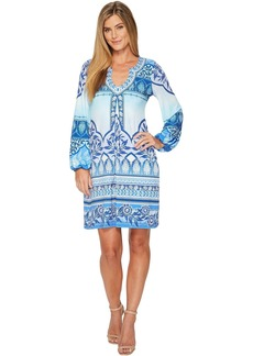 Hale Bob Precious Cargo Matte Microfiber Jersey Dress