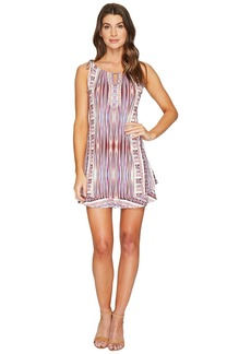 Hale Bob Pretty Brilliant Microfiber Jersey Tie Dress