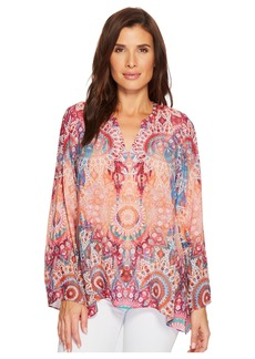 Hale Bob Room To Glow Tunic Top