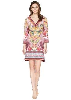 Hale Bob Simply Irresistible Matte Microfiber Jersey Dress w/ Beads