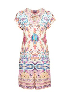 Hale Bob Tassel Print Sheath Dress