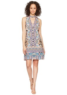 Hale Bob Travel Bright Microfiber Jersey Dress