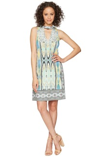 Hale Bob Travel Bright Microfiber Jersey Dress