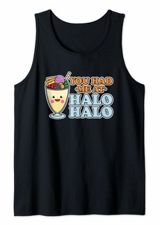 halo halo filipino ice shaver / Philippines Tagalog dessert Tank Top
