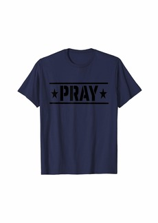 HALO Join the army of prayer warriors PRAY! T-Shirt