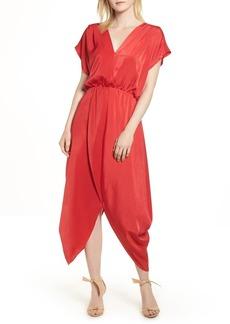 Halogen  Faux Wrap Maxi Dress