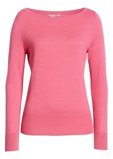 Halogen Bateau Neck Sweater (Regular, Petite & Plus Size)