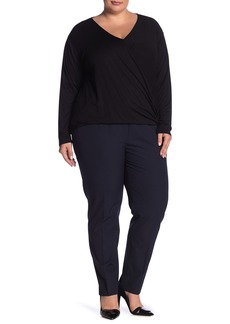 Halogen Ela Taylor Slim Leg Pants (Plus Size)
