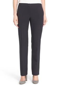 Halogen Ela Taylor Straight Leg Suit Pants (Petite)