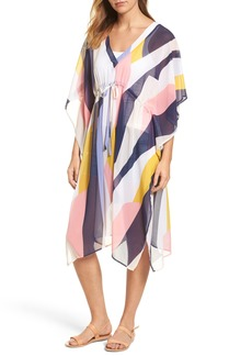 Nordstrom Abstract Print Poncho