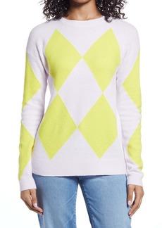 Halogen® Argyle Sweater