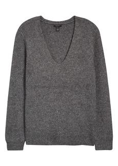 Halogen® Balloon Sleeve Sweater