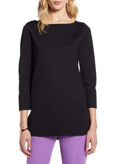 Halogen® Bateau Neck Tunic Top