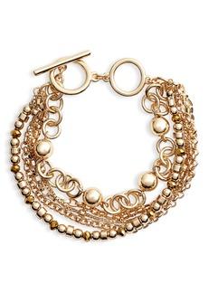 Halogen® Beaded Layered Bracelet