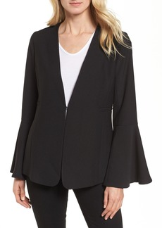 Halogen® Bell Sleeve Blazer (Regular & Petite)