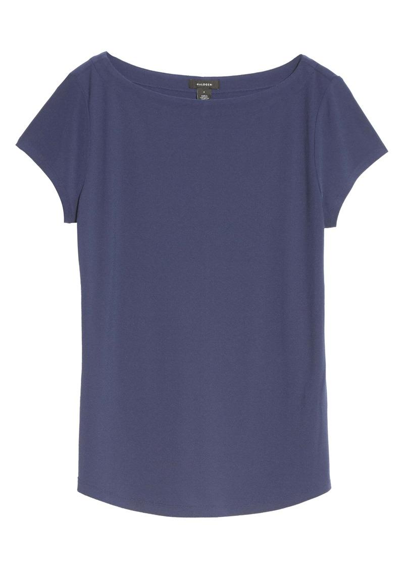 Halogen® Boat Neck T-Shirt