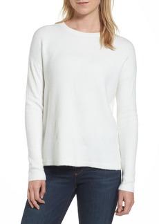 Halogen® Bow Back Sweater (Regular & Petite)