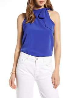 Halogen® Bow Neck Top