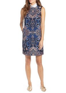 Halogen® Brocade Shift Dress