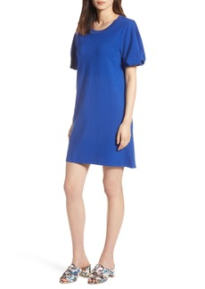 Halogen® Bubble Sleeve Dress (Regular & Petite)