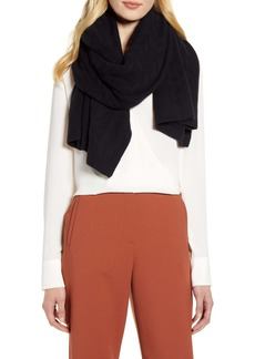 Halogen® Cable Cashmere Scarf