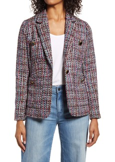 Halogen® Callie Tweed Blazer