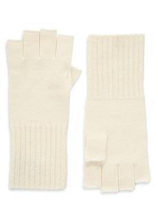 Halogen® Cashmere Fingerless Gloves