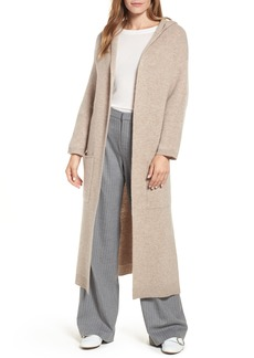 Halogen® Cashmere Hooded Duster