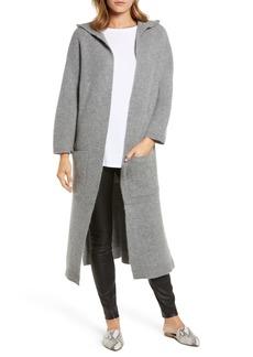 Halogen® Cashmere Hooded Duster