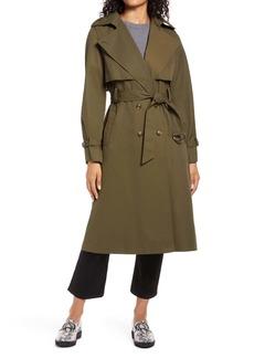 Halogen® City Trench Coat