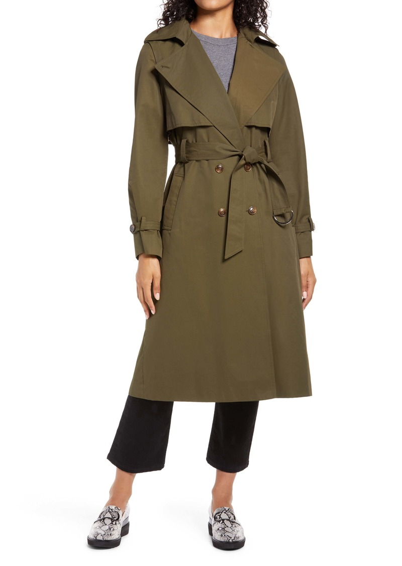 Halogen® City Trench Coat