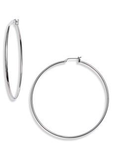 Halogen® Classic Metal Hoop Earrings