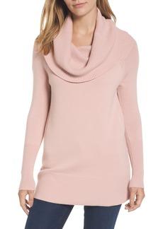 Halogen® Convertible Neck Sweater (Regular & Petite)