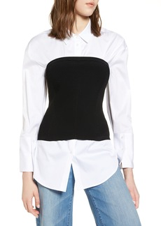 Halogen® Corset Sweater