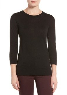 Halogen® Cotton Blend Pullover (Regular & Petite)