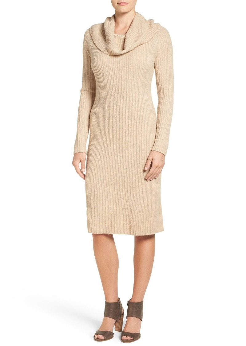 Halogen Halogen® Cowl Neck Sweater Dress (Regular & Petite ...