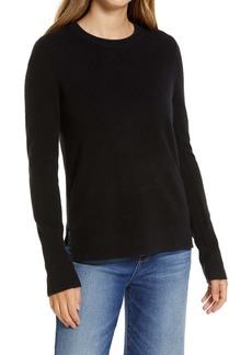 Halogen® Crewneck Cashmere Sweater