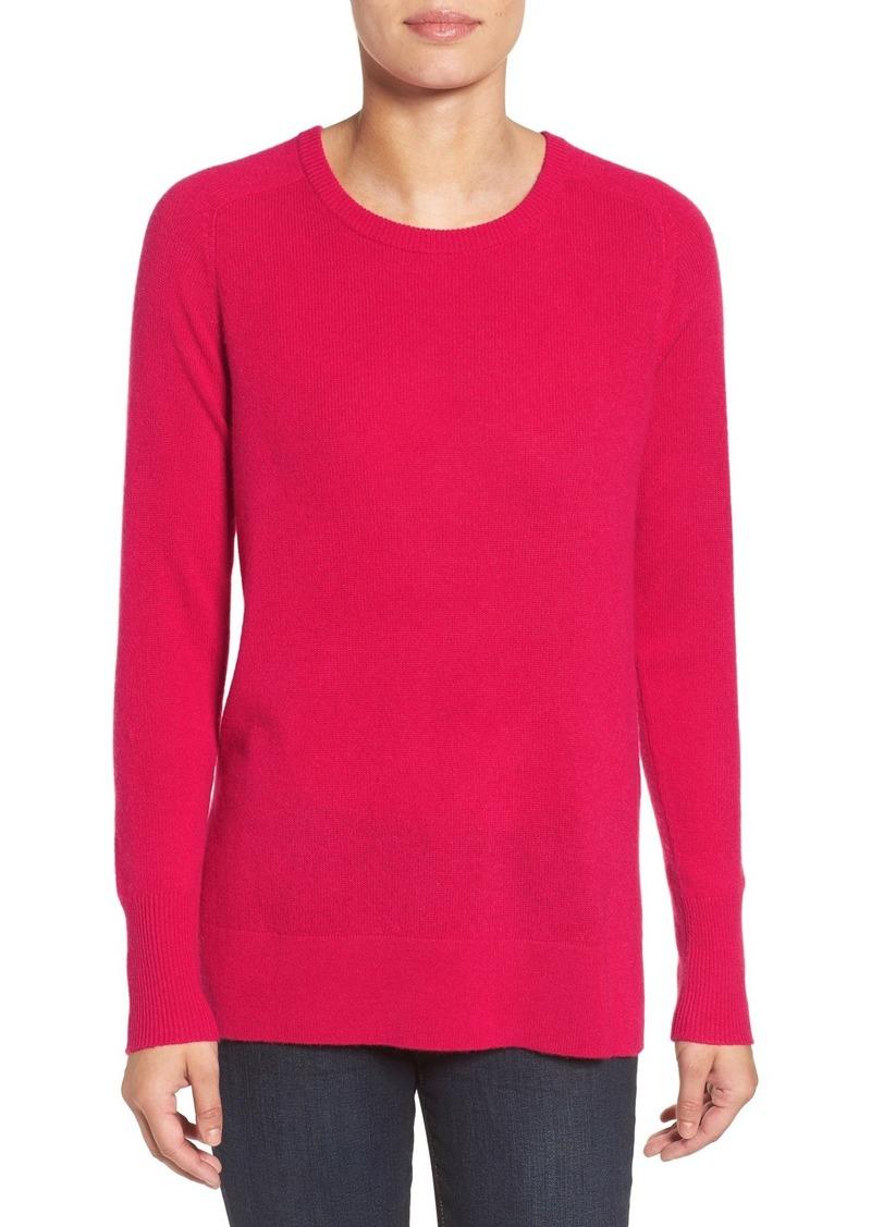 Halogen Halogen® Crewneck Lightweight Cashmere Sweater (Regular ...