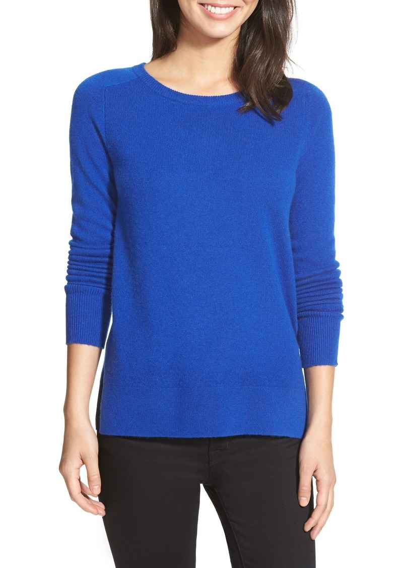 Halogen Halogen® Crewneck Lightweight Cashmere Sweater (Regular ...