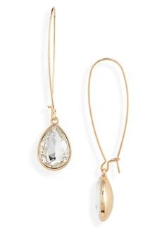 Halogen® Crystal Drop Earrings