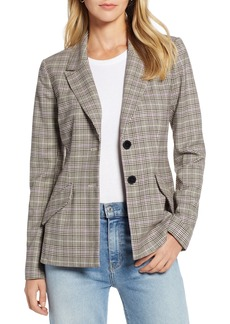 Halogen® Dart Detail Blazer (Regular & Petite)
