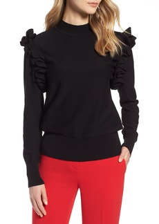 Halogen® Detachable Sleeve Sweater (Regular & Petite)